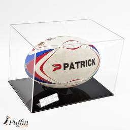 Rugby Ball Display Case