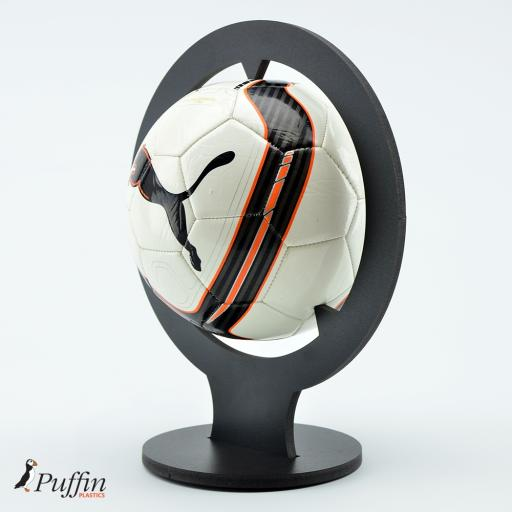 Football Display Plinth - BLACK