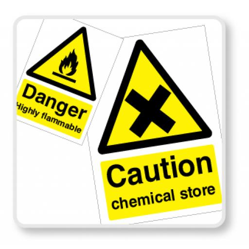 Hazardous Substance Signs
