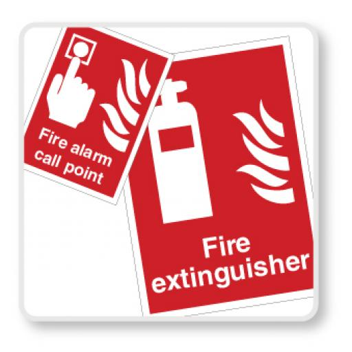 Fire Safety Equipment Signs