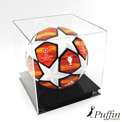 Football Display Case - Superior Colour Base