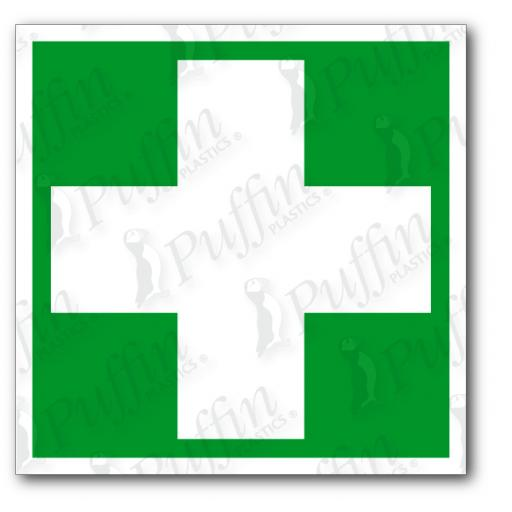 First Aid Cross Only Sign