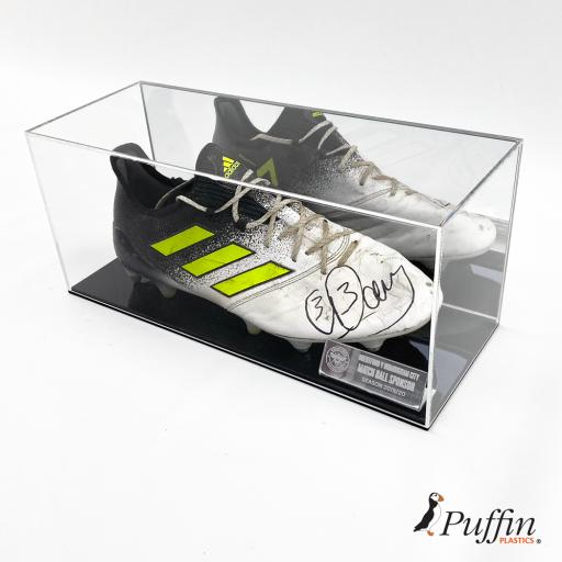 Football Boot Display Case (Single) - With Mirror Back