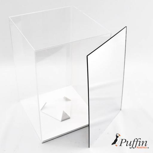 Rugby Deluxe Display Case - Mirror Backing