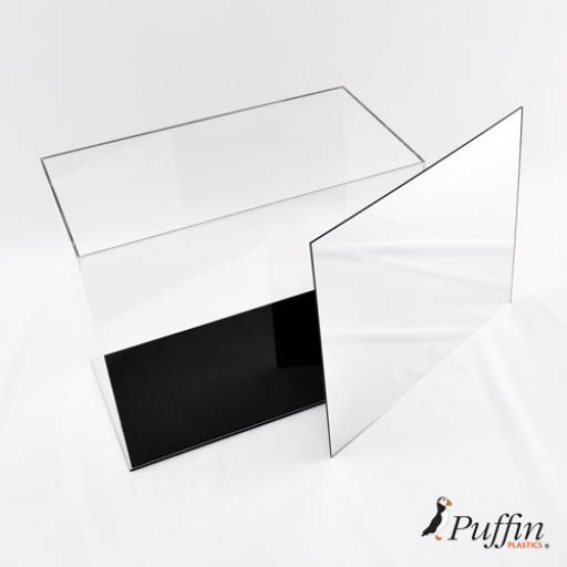Mirror Back For Boxing Double Portrait Display Case