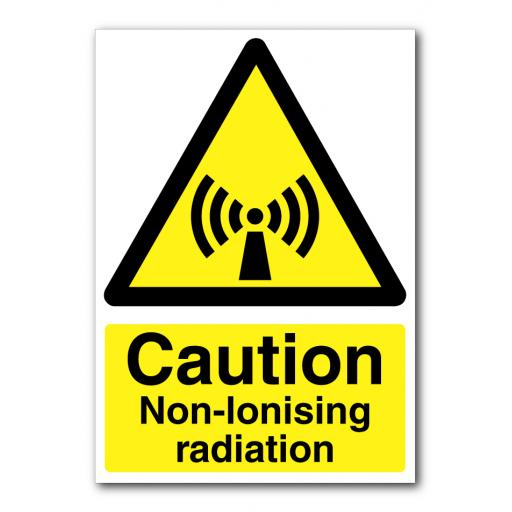 Caution Non-Ionising Radiation Sign