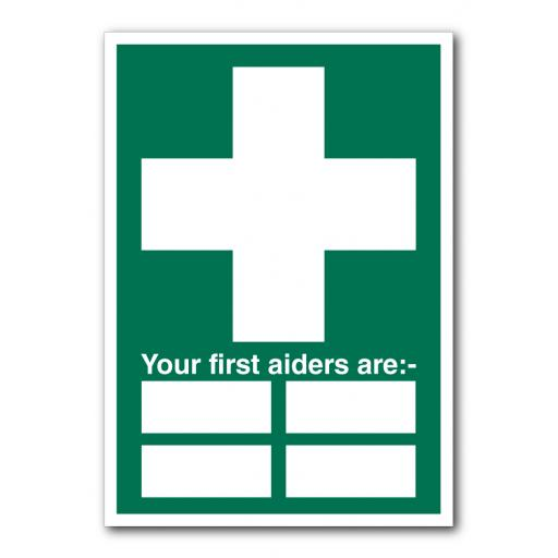 Your First Aiders Are Sign