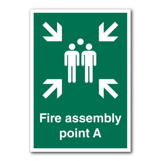 Fire Assembly Point A Sign
