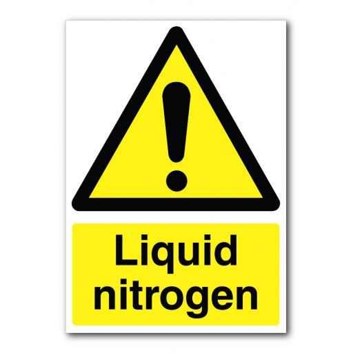 Liquid Nitrogen Sign