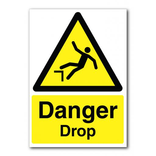 Danger Drop Sign