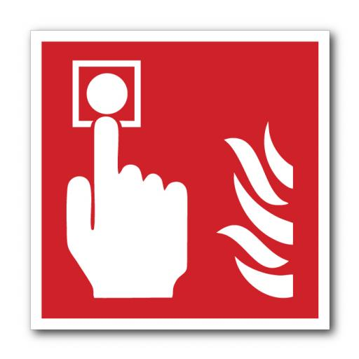 Fire Alarm (No Wording) Sign