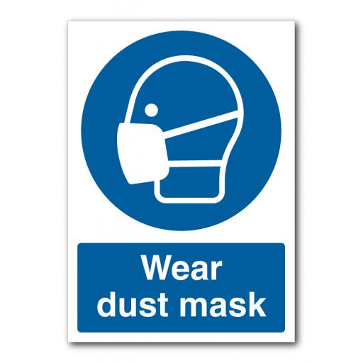Wear Dust Mask Sign