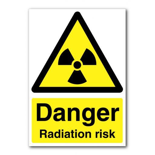 Danger Radiation Risk Sign