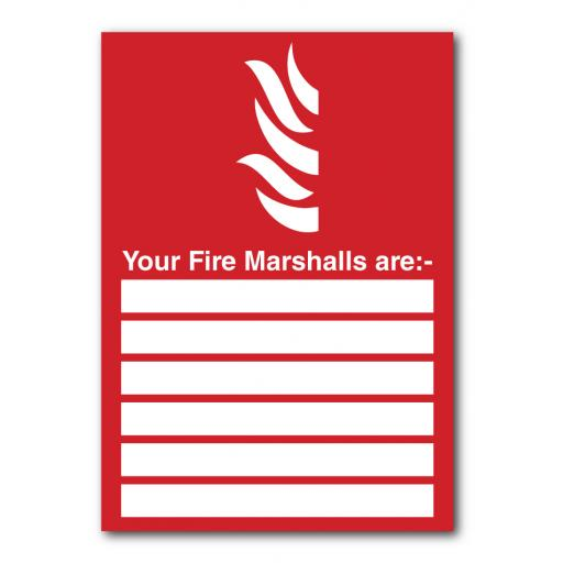 Your Fire Marshalls Are Sign