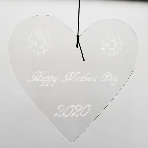 Heart Shaped Plaque - Custom Made