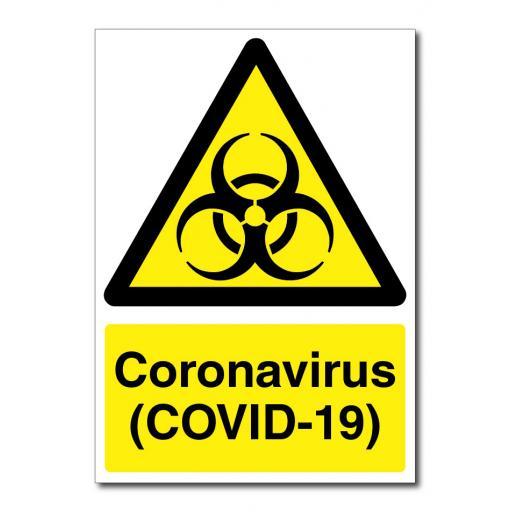 Coronavirus - (COVID-19) Sign