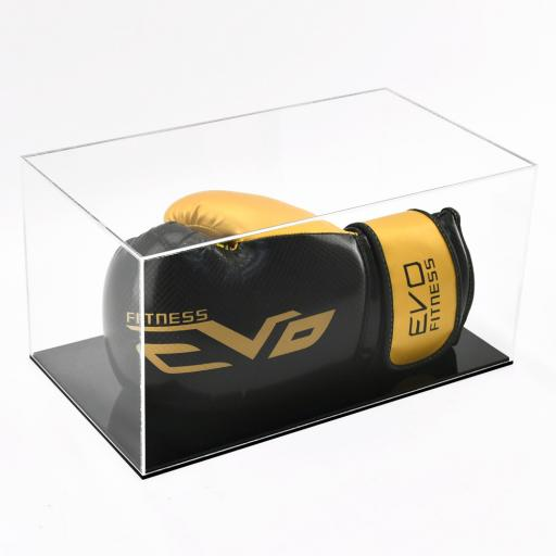 Boxing Glove Display Case - Single Landscape Colour Base