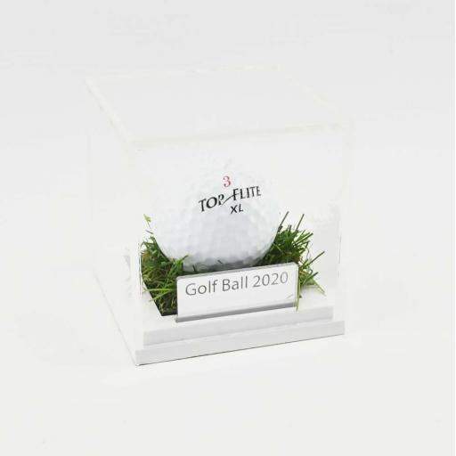 Golf Ball Display Cases