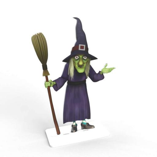 Halloween Witches - Free Standing (2-Pack)