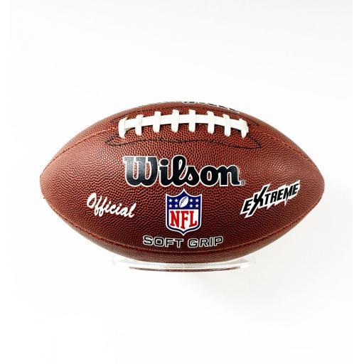 Landscape American Football Holder Wall Bracket