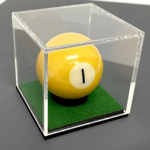 Premium Snooker Ball Display Case