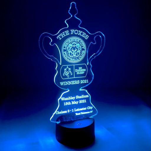 Leicester City FA Cup Winners LED Light