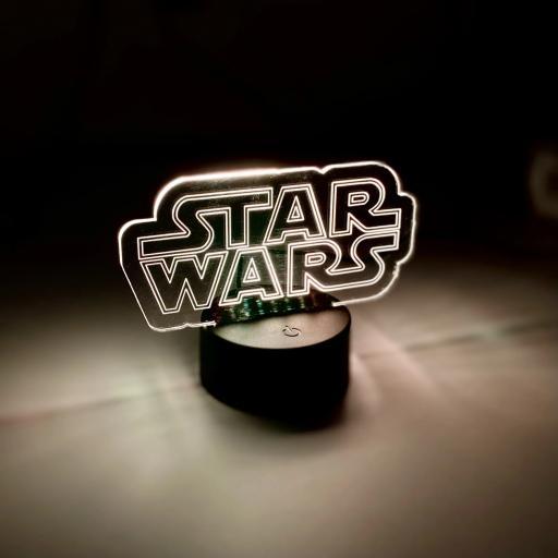 Star Wars Logo LED Light