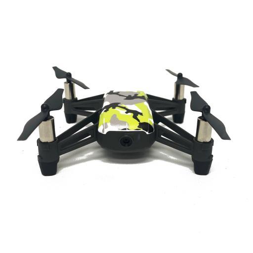 DJI Drone Skin Grey Black Green Camo Image 1.png