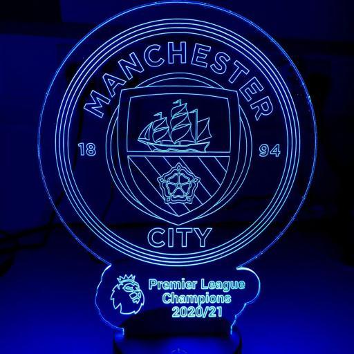 Man City Premier League Champions LED Light Image 2.png