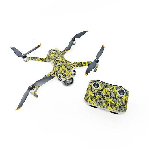 DJI Drone Skin Green Camo Image 6.png