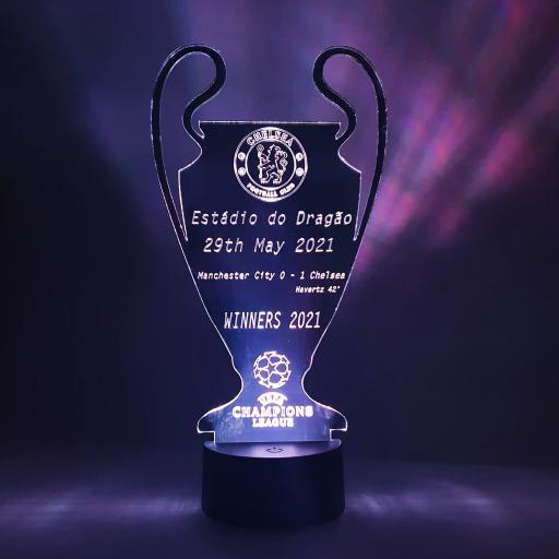Chelsea Champions League Winners LED Light