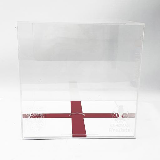 Football Display Case - England Euro 2020 Finalist Engraving