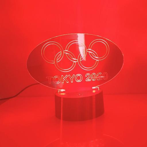 Olympics Tokyo 2020 LED Light - Mirror Edition