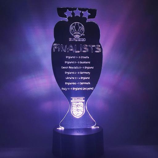 England Euro 2020 LED Light