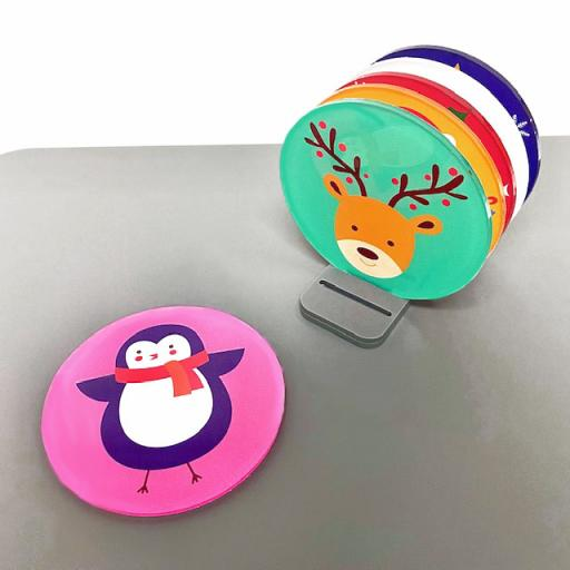 Christmas Coasters - 6 Pack (Design 1)